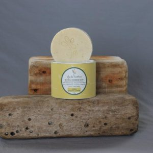 Lemon Rhassoul Round Soap