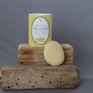 Lemon Rhassoul Stone Soap