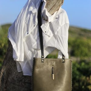 Formal Tote – Olive green